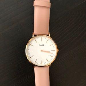Blush cluse wrist watch - needs battery